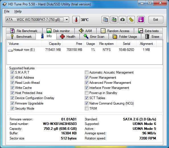 42 hdtune hdd info sager np9380-s